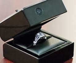 wedding rings in box engagement ring box