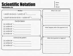 scientific notation review worksheet free worksheets library