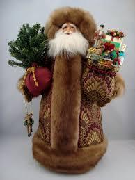 Santa Claus Dolls Handmade - santa santa claus doll by dianesheirloomsantas