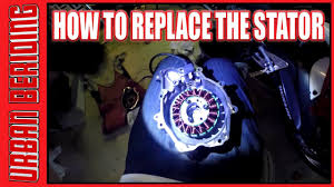 how to replace r6 stator stator cover youtube