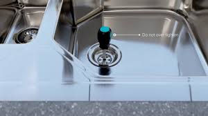 kitchen sink wastes how to install or replace a basket strainer sink waste in a