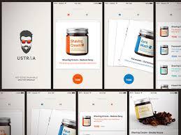 ustraa ios app sketch freebie download free resource for sketch