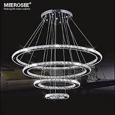Ceiling Chandelier Meerosee Crystal Chandeliers Modern Led Ceiling Lights Fixtures