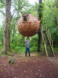 Coolest Treehouses Images About Tree Houses Ziplines On Pinterest Treehouse And