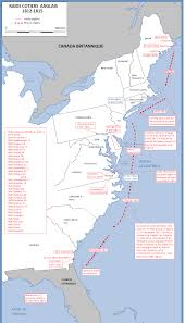 Virginia Coast Map by The Coastal Raids Of Royal Navy During The War Of 1812 The