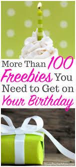 birthday stuff ultimate list of birthday freebies for food more