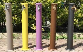 fontane per giardini fontane da giardino in acciaio eleganza minimal per il tuo
