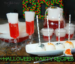 halloween party recipes dragon u0027s blood punch u0026 sunkist ten cake
