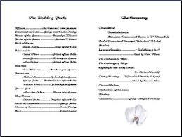 church wedding program template church program sles free templates resume exles vdajq4zy8p