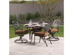 Aluminum Dining Room Chairs San Marino 64