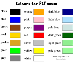list of colours colours in english youtube