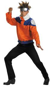 male halloween costumes party city amazon com naruto jacket costume child teen costume deluxe