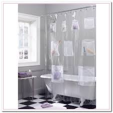 clear shower curtain with design curtain curtain image gallery