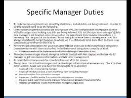 Restaurant Manager Job Resume by 5 Typical Job Responsibilities Assistant Restaurant Manager