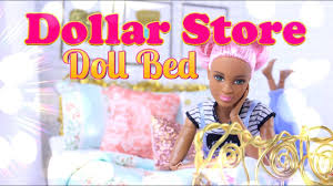 How To Make Doll Kitchen Diy How To Make Dollar Store Doll Bed Handmade Dollhouse