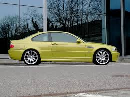 Bmw M3 Yellow Green - worst colour color for our friends in the usa that bmw have made