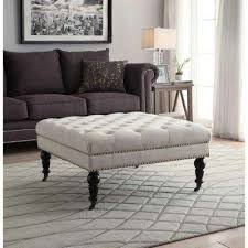 ottomans living room furniture the home depot
