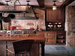 kitchen stone backsplash ideas with dark cabinets beadboard