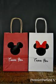 mickey mouse gift bags 13 mouse party favor bags party favor bags by premierpartieslv