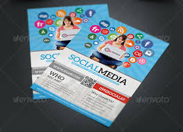 social media brochure template social media brochure template 14 great social media flyer