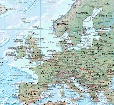 Europe Map 1500 by World Physical Wall Map Huge Size Xyz Maps