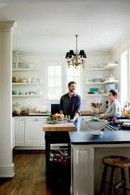 kitchens with shelves green tiny kitchen inspiration that you ll want to pin southern living