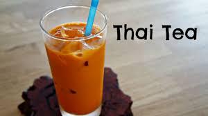 cara membuat thai tea latte how to make thai tea easy recipe youtube