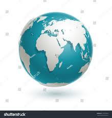 World Globe Map 3d World Globe Icon White Map Stock Illustration 121235563
