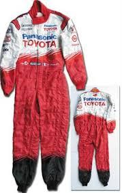 racing jumpsuit worn racing jumpsuit formula one panis signed original racing