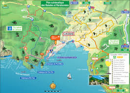 Lan Route Map by Cassis And Hiking The Calanques Trail Beach And Logistics Advice