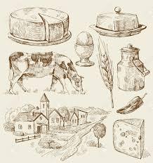 milk pic 13 free vintage illustrations