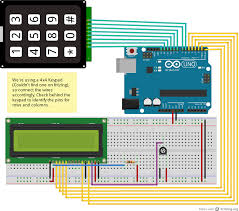 how to set up an lcd display on arduino wiring diagram components