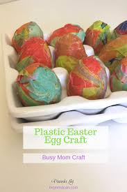 make this easy plastic easter egg craft momma can