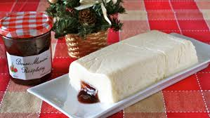 Christmas Cheesecake Decoration - 5 ingredients no bake cheesecake christmas cake idea 材料5つで