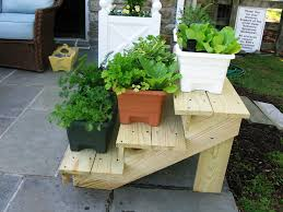 plant stand herb plant stand tier wooden flower pot shelves