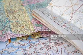 paper maps road map stock photos and pictures getty images