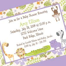 Baby Welcome Invitation Cards Templates Template Baby Shower Invite Wording