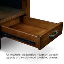 Chair Side Table With Storage Amazon Com Slatestone Oak Storage End Table Rustic Oak Finish