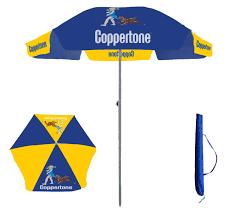 Beech Umbrella 100 Beach Umberella Rio 4 Ft Blue Clamp On Beach Umbrella