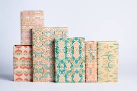 deco wrapping paper nouveau gift wrap