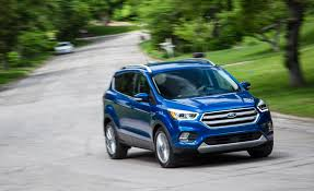 2017 ford escape in depth model review car and driver
