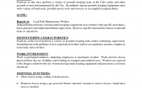 Sample Resume For Maintenance Worker by Maintenance Resume Objective Examples Maintenance Worker Resume