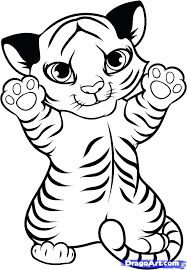 coloring page tigers coloring pages of tiger cubs darach info