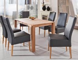 Esszimmerstuhl Kunstleder Grau 4x Stuhl Tom Kunstleder Polsterstuhl Varianten Esszimmerstühle