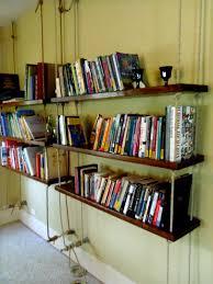 inspiring small hanging bookshelves images design inspiration