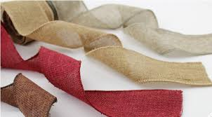 wholesale burlap ribbon jute burlap ribbon jute roll for country wedding floristry wreath