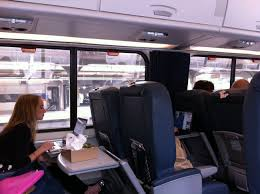 train travel in the usa comfort on board an amtrak train contact