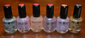 del sol color changing nail polish and color changing tee 2012