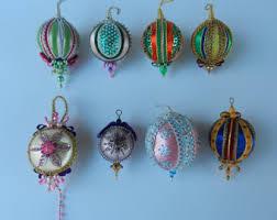 handmade christmas ornaments vintage christmas ornaments handmade etsy