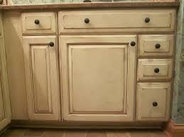 Distressed Kitchen Furniture by Ergonomic Antique White Distressed Cabinets 2 Antique White